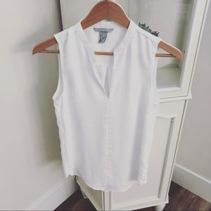 H&M blouse white sz 2 NWOT